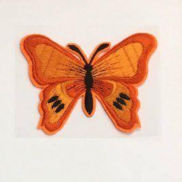 Sticker BASIC Butterfly orange
