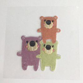 Sticker MIDI Teddy family 1