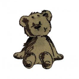 Sticker MINI Teddy brown