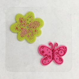 Sticker MINI Butterfly & Flower
