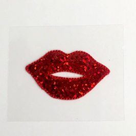 Sticker MINI Glitter Lips