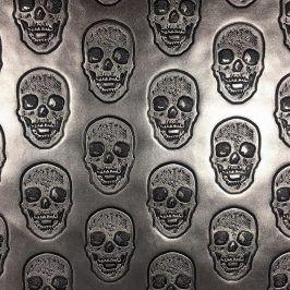 Umelá koža Skull