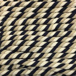 Bavlnená šnúra točená 15 mm 1