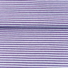 Patent hladký Pásik purple