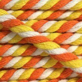Bavlnená šnúra točená 6 mm 2