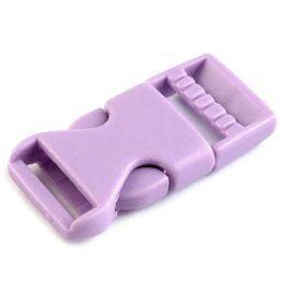 Ľadvinová spona 15 mm fialová