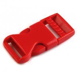 Ľadvinová spona 15 mm červená