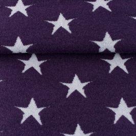 Patent hladký Hviezda fialová