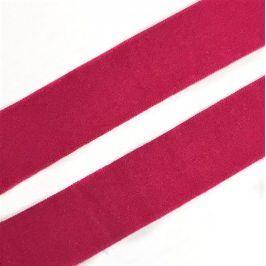 Lemovacia guma matná 20 mm ružová