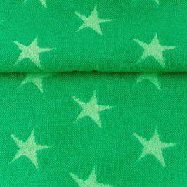 Patent hladký Hviezda zelená