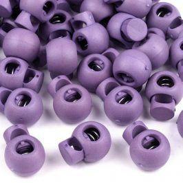 Brzdička 5 ks fialová