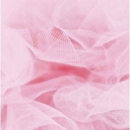 Tyl na TUTU ružová bledá