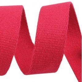 Popruh bavlna 3 cm ružová