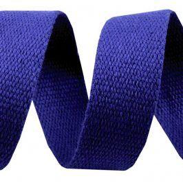 Popruh bavlna 3 cm tmavá modrá