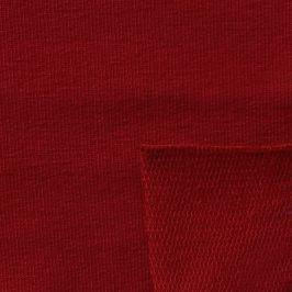 Teplákovina červená tmavá