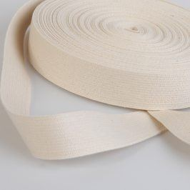 Popruh bavlna 3 cm režná