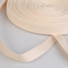 Popruh bavlna 2 cm režná