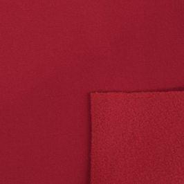 Softshell zimný červená tmavá