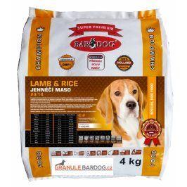 Bardog Super prémiové granule Lamb rice 24/14 - 4 kg