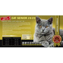 Bardog Super prémiové krmivo Cat Senior 28/20 - 1 kg