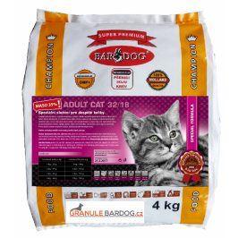Bardog Super prémiové krmivo pro kočky Cat Adult 32/18 - 4 kg
