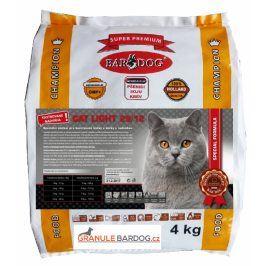 Bardog Super prémiové krmivo pro kočky Cat Light 29/12 - 4 kg