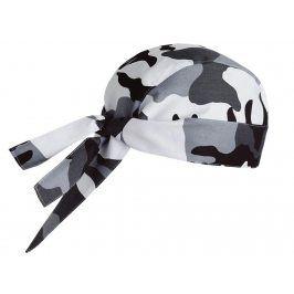 Kuchárska šatka na hlavu - rôzne vzory maskáče