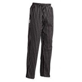 Kuchárske nohavice AMERICA - široké pásy, 100% bavlna S