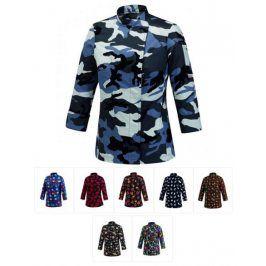 Dámsky rondon 100% bavlna - rôzne vzory farebné smrtky,XS