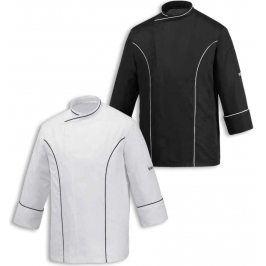 Kuchársky rondon MASTER - čierny alebo biely Biela,S