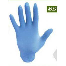 Nitrilové jednorázové rukavice nepúdrované - modré M