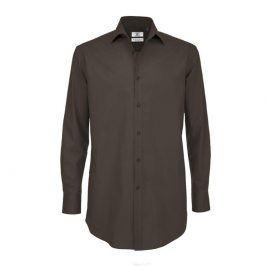 Pánska čašnícka košeľa dlhý rukáv - 4 farby Biela,S