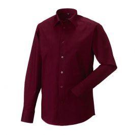 Pánska čašnícka košeľa dlhý rukáv PREDĹŽENÁ - 4 farby Biela,S