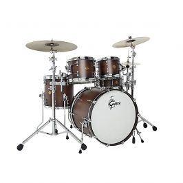 Gretsch drums Gretsch Shellpack New Classic 10/14/18 Satin Walnut Burst