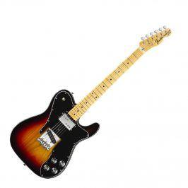 Fender Classic Series '72 Telecaster Custom, Maple Fingerboard, 3-Color Sunburs
