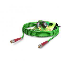 SOMMER Koaxkabel Focusline L, grün, 0,75m