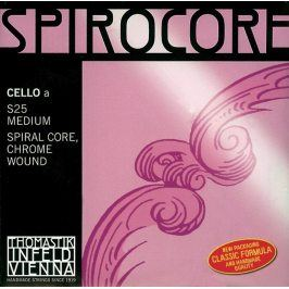Thomastik Strings For Cello Spirocore spiral core Medium