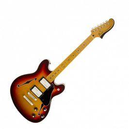Fender Starcaster, Maple Fingerboard, Aged Cherry Burst