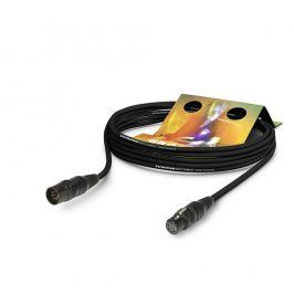 SOMMER Hybrid Kabel Kolorith Mini, sw, 3,00m
