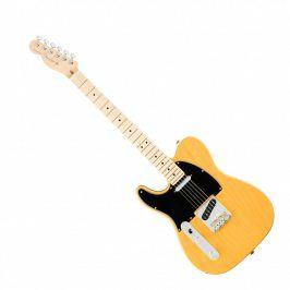 Fender American Pro Telecaster Left-Hand, Maple Fingerboard, Butterscotch Blond