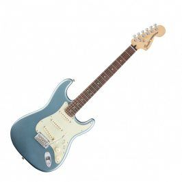 Fender Deluxe Roadhouse Stratocaster, Rosewood Fingerboard, Mystic Ice Blue