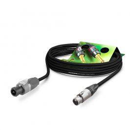 SOMMER LS Kabel Meridian PVC 15,00m, schwarz