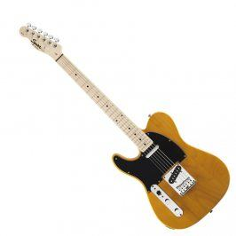 Squier Affinity Series Telecaster Left-Handed, Maple Fingerboard, Butterscotch