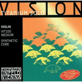 Thomastik Strings For Violin Vision Titanium ochestra synthetic core Medium