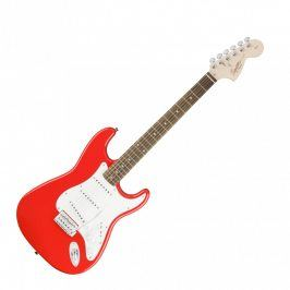 Squier Affinity Series Stratocaster, Rosewood Fingerboard, Race Red