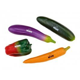 NINO BOTANY SHAKER SET VEGET. PEPPER, CARROT, EGGPLANT