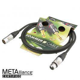 Sommer Cable SC EG1B; XLR / XLR; 1m; Ŕierny