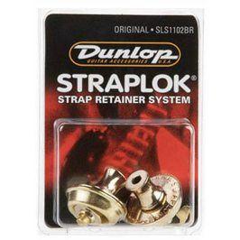 Dunlop straplok systém Original - mosadz (sada)