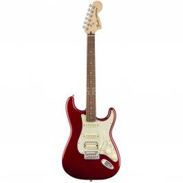 Fender Deluxe Stratocaster HSS, Pau Ferro Fingerboard, Candy Apple Red