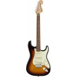 Fender Deluxe Roadhouse Stratocaster, Pau Ferro Fingerboard, 3-Color Sunburst